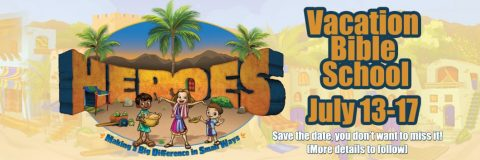 Click Here to register for vbs